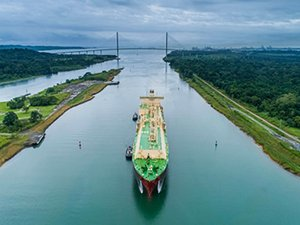 Milestone transit proves expanded Panama Canal's value to US LNG