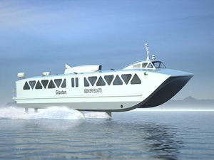 Funding backs low-emissions hydrofoil ferry
