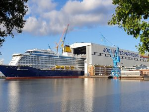 Spirit of Adventure on Sea Trials as Saga Cruises Prepares for Future