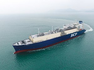 Russian newbuild LNG carrier goes on charter to Shell