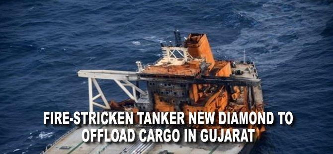 Fire-Stricken Tanker New Diamond to Offload Cargo in Gujarat