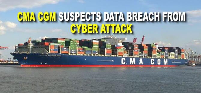 CMA CGM Suspects Data Breach from Cyber Attack