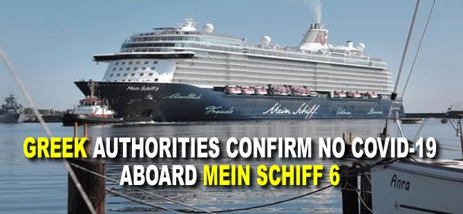 Greek Authorities Confirm No Covid-19 Aboard Mein Schiff 6