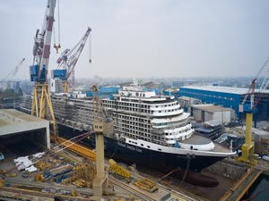 Cruise Ship Construction Accelerates with Two Large Ships Delivered