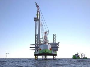 Ulstein unveils hydrogen-hybrid wind turbine installation vessel