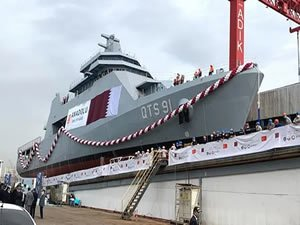 "Turkish Anadolu Shipyard launches cadet training ship ""Al Doha"" for Qatar"