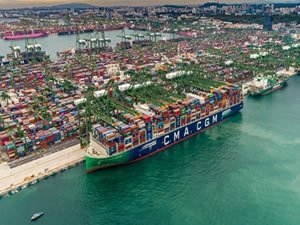 CMA CGM Jacques Saade Sets New Record for Most Full Containers
