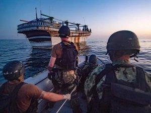 US sailors helped Iran-flagged vessel in distress