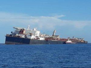 FSO Nabarima With Severe List Off Venezuela