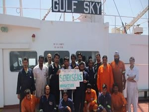 HRAS: Crew of Tanker Gulf Sky Caught in a Case of Political Intrigue