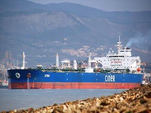 Turkish Suezmax tanker detained, sued for $225 mil after contacting platform, USA