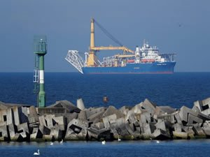 Nord Stream 2 Pipe-Laying Vessel Underway to Project Hub