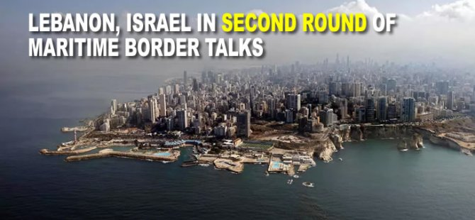 Lebanon, Israel in second round of maritime border talks