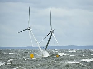 Two-Headed Floating Offshore Wind Platform Passes Trials