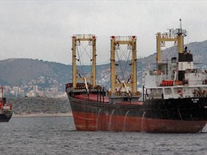 Cargo ship catches fire off Greek coast, crew evacuated