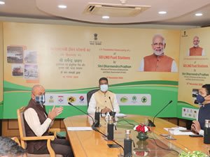 India kicks off 1000 LNG stations development