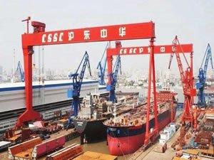 Chinese shipyard newbuilding orderbook shrinks 10%