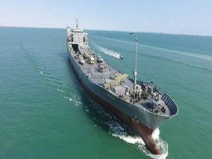 Oceangoing warship 'Rudaki' joins IRGC navy