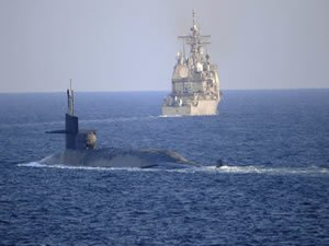U.S. Nuclear-Powered Sub Enters Gulf After Transiting the Strait of Hormuz