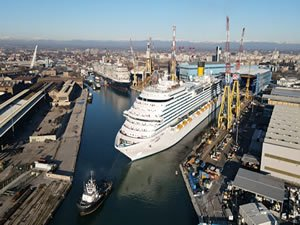 Fincantieri Delivers New Cruise Ship to Carnival's Costa Cruises