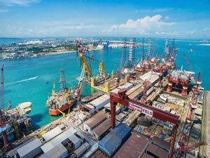 Keppel Offshore & Marine exits rig building to focus on renewables