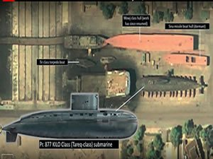 Iran's Best Submarines Have Been Out of the Water for a Month