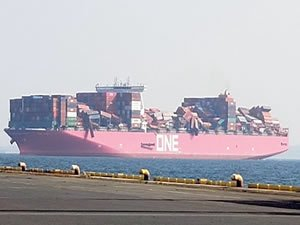 The oceans are becoming a large container terminal