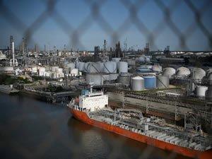 Deep Freeze Shuts Houston Ship Channel