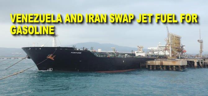 'Perfect Trips': Venezuela and Iran Swap Jet Fuel for Gasoline