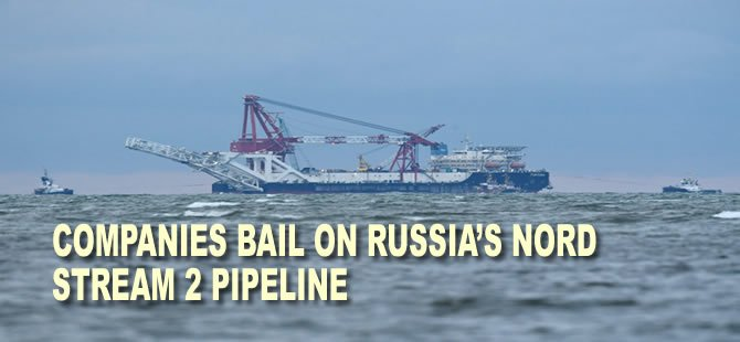 Companies Bail on Russia's Nord Stream 2 Pipeline