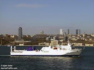 Passenger ferry fire, Black sea