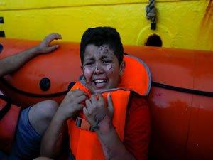 German NGO Ship Rescues 100 Migrants In The Mediterranean Sea
