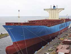 11000 TEU ship ELLY MAERSK