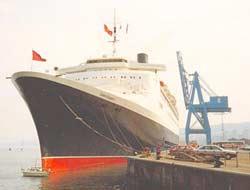 Cunard liner Queen Elizabeth-2