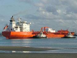 Norwegian tanker aground