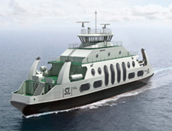 Aker to build LNG ferries