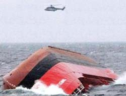 OMER-N capsized Baltic Sea