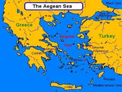 Turkey entitled to Aegean islets