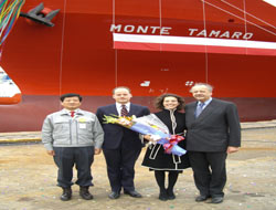 Hamburg Sud's new training ship