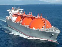 77000 ton LNG Carrier delivered