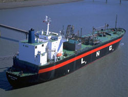 Changing risk profile for LNG ship