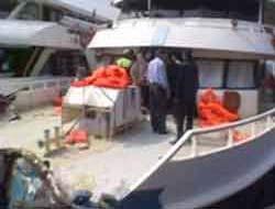 Two ships collision Bosphorus