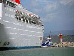 """Sky Wonder"" cruise ship aground"