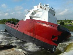 Launches first of ten Rigdon PSV's