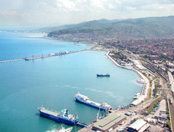 Samsun Port is transferred to Cey