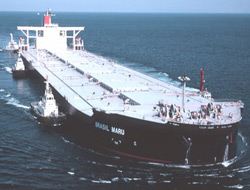 "Giant ore carrier ""Ship of the Year"""