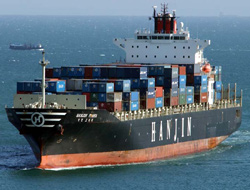A new route on Hanjin?s service