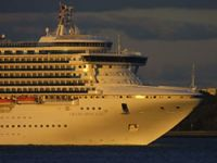 Cruise ship resume their search