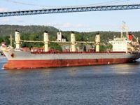 Hijacked vessel return to service