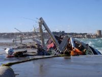 Vessel sank along with its cargo